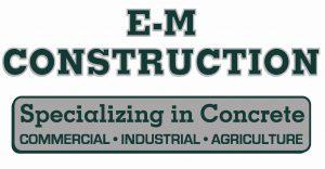 EM Construction Logo